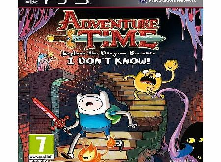 Adventure Time: Explore the Dungeon Because I dont know (PS3)