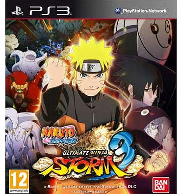 Naruto Shippuden Ultimate Ninja Storm 3 - PS3 Game