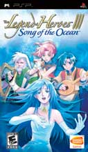 The Legend of Heroes 3 Song of the Ocean PSP