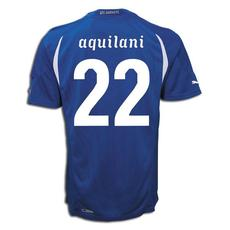 Puma 2010-11 Italy World Cup Home (Aquilani 22)