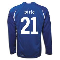 Puma 2010-11 Italy World Cup Long Sleeve Home (Pirlo