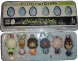 Disneys Chicken Little Set Of 6 Egg Characters In Egg Box