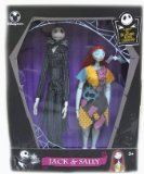 Nightmare Before Christmas Limited Edition Jack and Sally Porcelain Doll Set