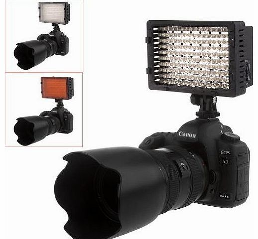 CN 160 LED CN-160 160PCS Dimmable Ultra High Power Panel Digital Camera / Camcorder Video Light, LED Light for Canon, Nikon, Pentax, Panasonic,SONY, Samsung and Olympus Digital SLR Cameras