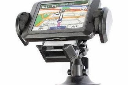 GPS and Phone Car Holder Works with iPhone, Blackberry, MP3 Player, GARMIN NUVI 1370T 1390T 1690 265T 275T 285WT 1200 1250 1260T 1300 1350 1350T 205 205W 255 255W