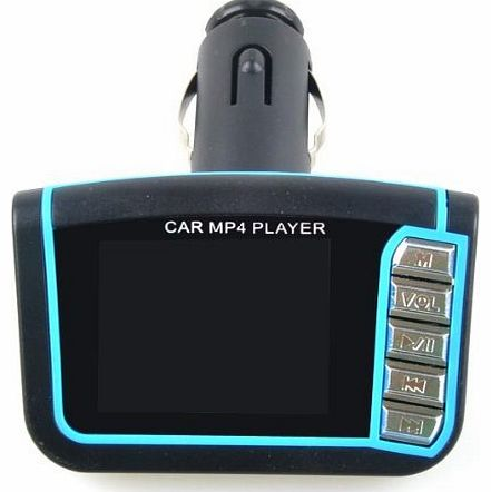 Neewer New Hi-Quality LCD Car MP3 MP4 Player Wireless FM Transmitter Set