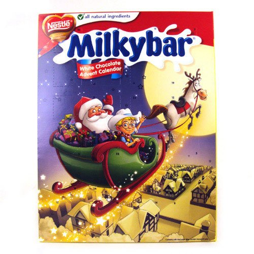 Nestlé Milkybar White Chocolate Advent Calendar 85g