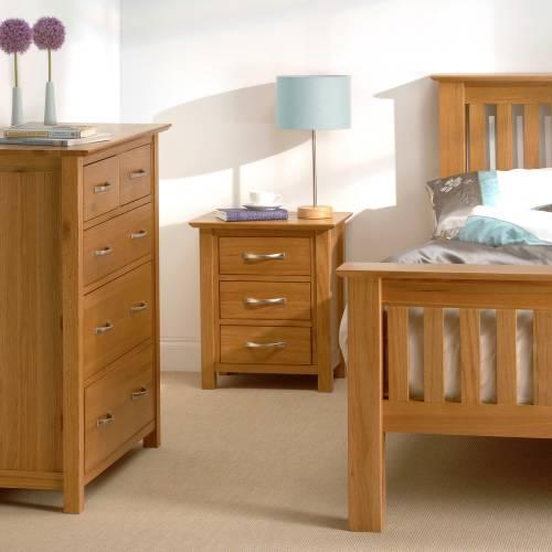 Furniture Store New Dorset Oak Furniture New Dorset Oak Bedroom Set 5 Bed 912