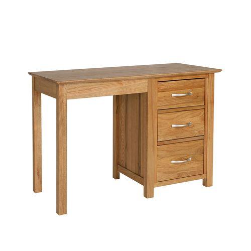 New Dorset Oak Furniture New Dorset Oak Single Desk
