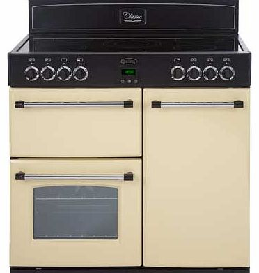 Belling Classic 90E Electric Range Cooker -