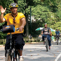 City: Bike and Boat Self-Guided Tour -