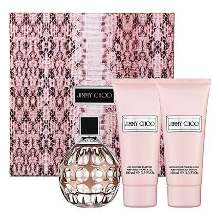 NewBorn, Baby, Jimmy Choo By Jimmy Choo Gift Set 3.3 oz EDP Spray, 3.3 oz Body Lotion & Shower Gel For Women New Born, Child, Kid