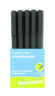 Nigel`s Eco Store 10 Recycled Fineline Pens - water based blue