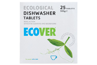 Nigel`s Eco Store Ecover Dishwasher Tablets 500g