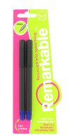 Nigel`s Eco Store Recycled Rollerball Pens - 2 water based blue