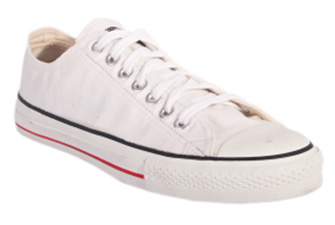 Nigel`s Eco Store White Low Cut Sneakers