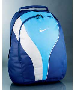 Blue Campus Graphic Backpack