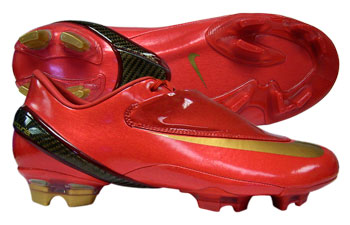 Nike Mercurial Vapor IV FG Football Boots Sport Red /
