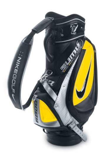 NIKE SQ 10.25 INCH STAFF GOLF BAG Black/Yellow