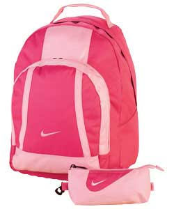 XL Pink Back To School Backpack and Pencil Case