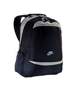 Zonal Black and Grey Large Backpack