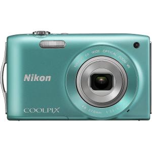 Coolpix S3300 Green