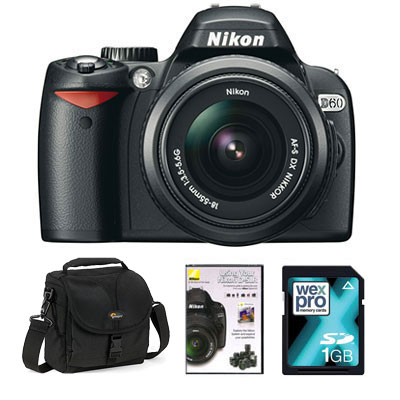D60 Digital SLR with 18-55 II Lens -
