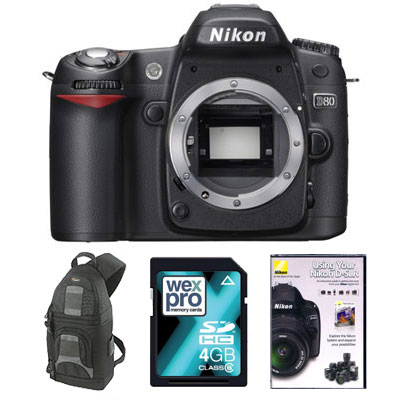 D80 Digital SLR - MEMORY KIT