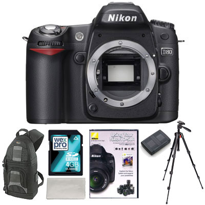 D80 Digital SLR - TRIPOD KIT