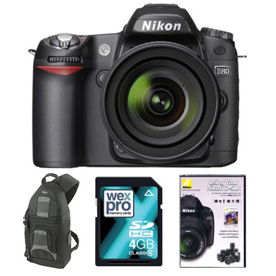 D80 Digital SLR with 18-70mm Lens - MEMORY