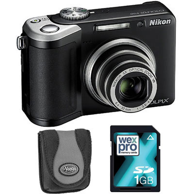 P60 Black Compact Camera with Bag and