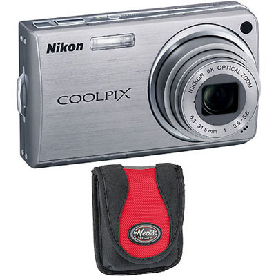 S550 Silver Compact Camera with Bag