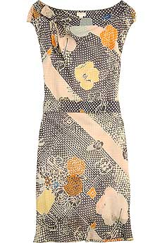 Nina Ricci Boat Neck Dress