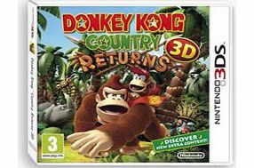 Donkey Kong Country Returns 3D on Nintendo 3DS
