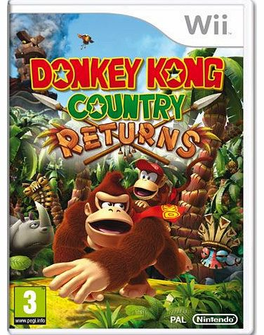 Donkey Kong Country Returns on Nintendo Wii