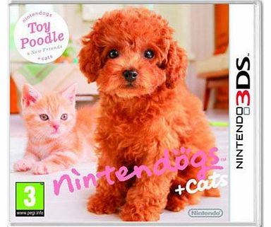 gs and Cats 3D - Poodle on Nintendo 3DS
