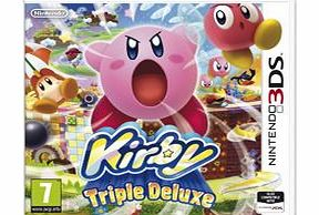 Kirby Triple Deluxe on Nintendo 3DS