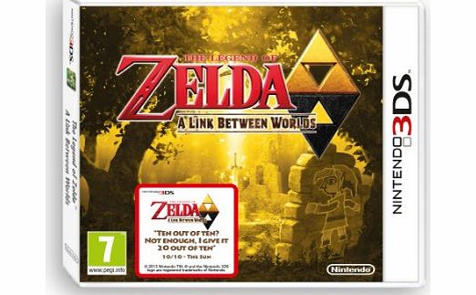 Legend of Zelda a Link Between Worlds on