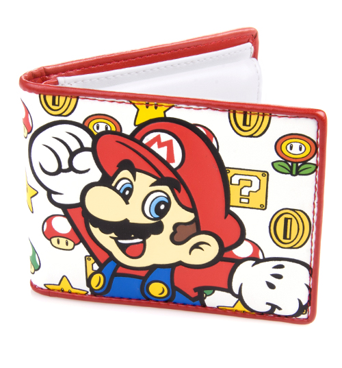 Mario And Coins Wallet