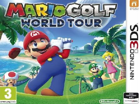 Mario Golf World Tour on Nintendo 3DS