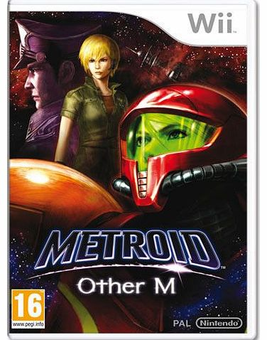 Metroid Prime Other M on Nintendo Wii
