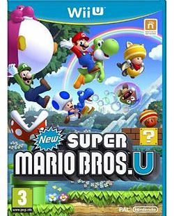 New Super Mario Bros U on Nintendo Wii U