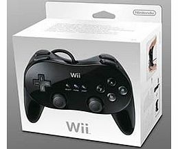 Official Nintendo Wii Classic Controller (Black)