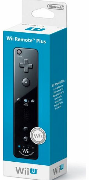Official Nintendo Wii U Remote PLUS (Black) on