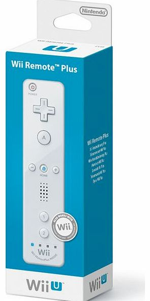 Official Nintendo Wii U Remote PLUS (White) on