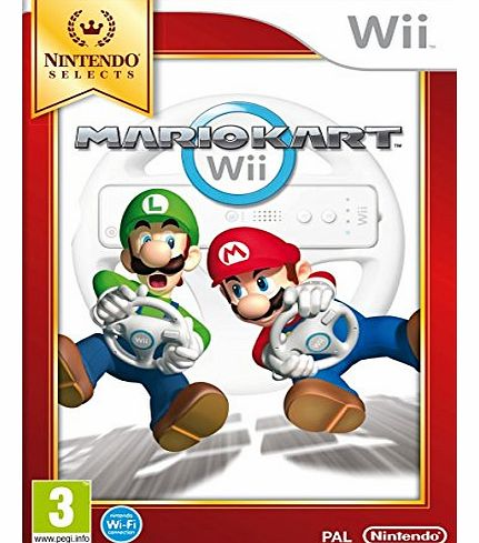 Selects: Mario Kart Wii - Game Only (Nintendo Wii)