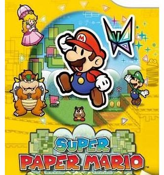 Super Paper Mario on Nintendo Wii