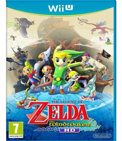 The Legend of Zelda Wind Waker on Nintendo Wii U