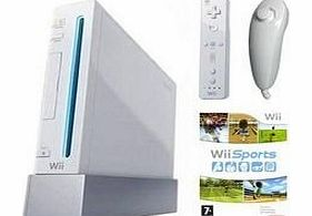 Wii Console (Includes Wii Sports) + Wii Fit Bundle - UK PAL Version (Limited Stocks)