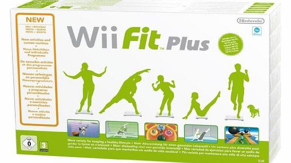 Wii Fit Plus with Balance Board - White (Wii)